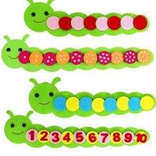 Montessori matemática brinquedos crianças jogo cor classificação ensino jardim de infância manual diy tecer pano aprendizagem precoce educação crianças brinquedos