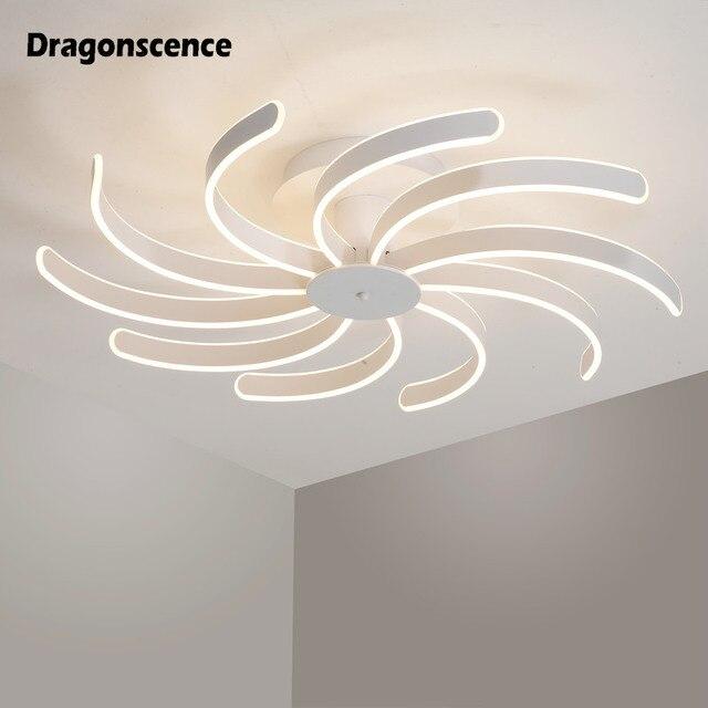 Dragonscence modern led chandelier for living room bedroom dining room aluminum body Indoor ceiling chandelier lighting XL-8008