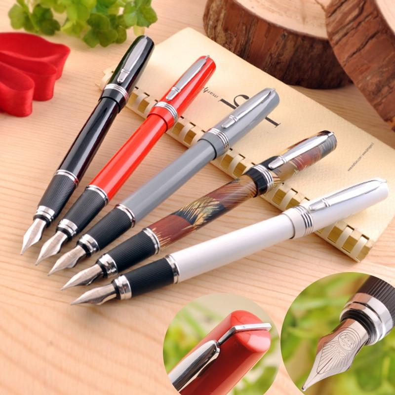 Duke fountain pen duke pen p06 black white clip iridium fountain pen ink pen  FREE shipping parker 88 maroon lacquer gt fine point fountain pen