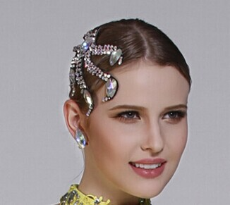 Ballroom Competition Hair Accessory Luxury Hair Accessory    H-05