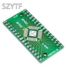 0,8/0,65 мм QFN32 QFP32 переходная пластина SMD поворотный DIP