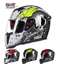 2016 Зима GXT Мотокросс анфас мотоциклетный шлем G358 двойной линзы мотоцикл шлемы, изготовленные из ABS 13 видов цветов размер Ml XL