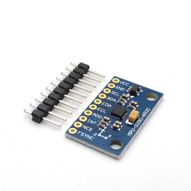 SPI/IIC GY 9250 MPU 9250 MPU 9250 9 axes Attitude + gyroscope + accélérateur + magnétomètre capteur Module MPU9250