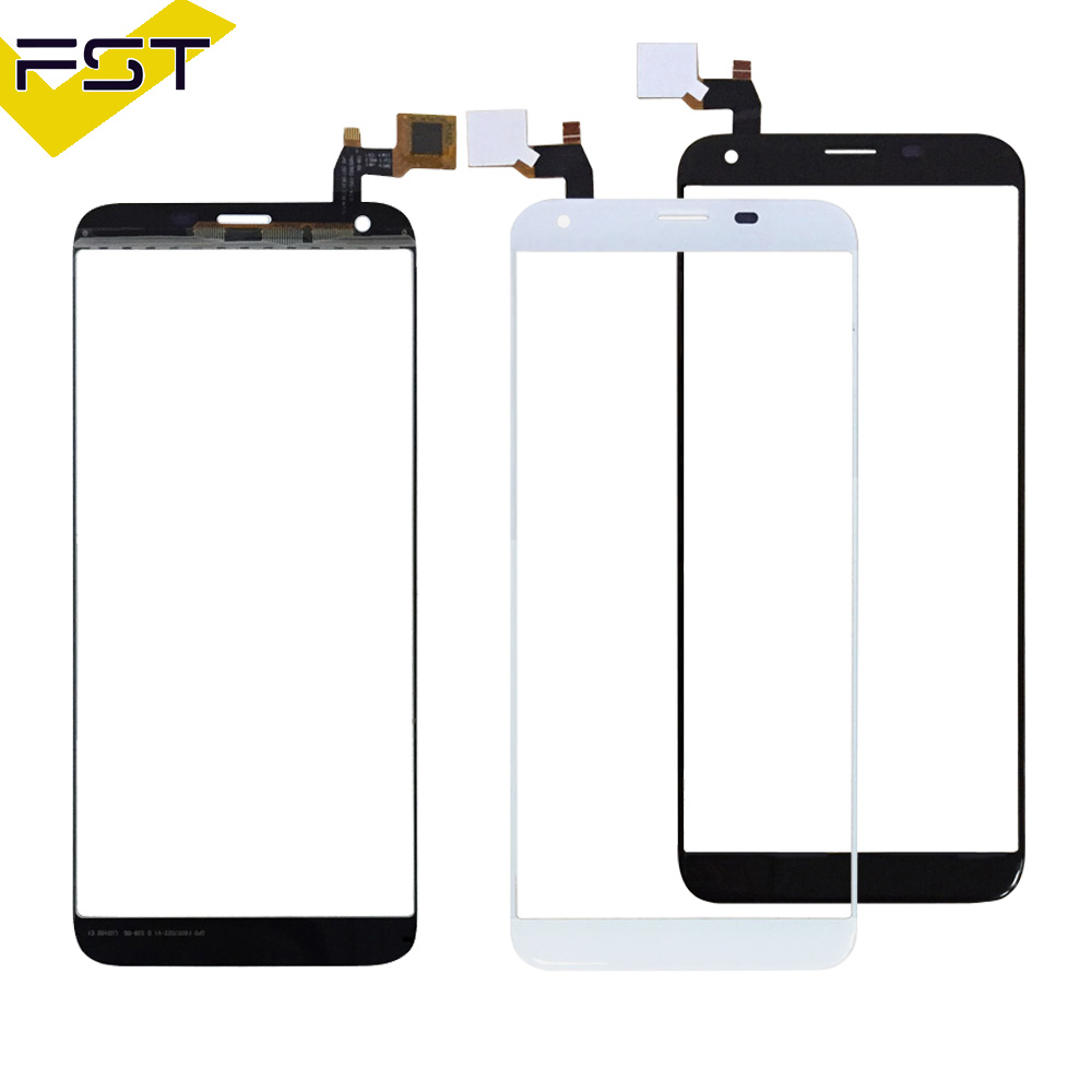 Black Sensor For Oukitel K5 Touch Screen Touch Screen Digitizer Glass Panel Touch Replacement Parts
