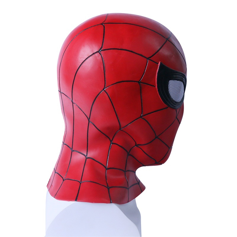 Spider-man:into The Spider-verse Spiderman Cosplay Costume Costume Spidey Mask Full Hat Halloween Free Size Free Shipping Elegant In Smell Costumes & Accessories