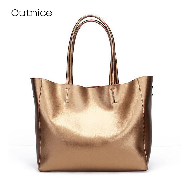 Luxury Handbags Women Bags Designer Shoulder Bags Ladies Hand Bags Gold Leather Tote sac a main femme de marque luxe cuir 2016 кукла winx club мини фигурки тайникс стелла