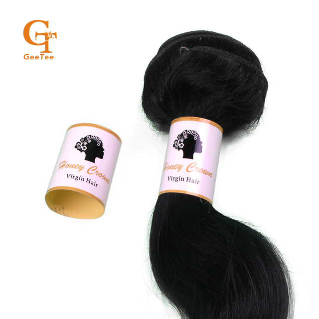 Aliexpress Buy Custom Brand 100 Virgin Human Hair Wrap