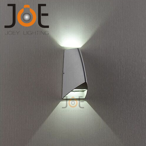 Modern Led 2w Outdoor Wall Lamp Porch Light Fashion Garden Ip54 For