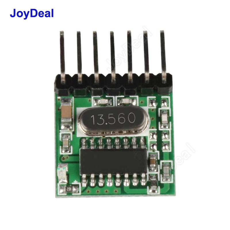 433 Mhz Wireless RF Remote Control 1527 Learning Code Button Switch  Transmitter For Gate Garage Doorbell Alarm Arduino / ARM DIY