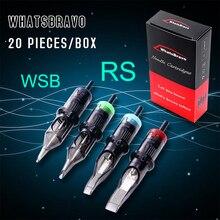 Luckybuybox واتسبرافو القابل للتصرف RS خرطوشة الوشم الإبر مع غشاء لين للوشم إمدادات القلم الدوارة الإبر