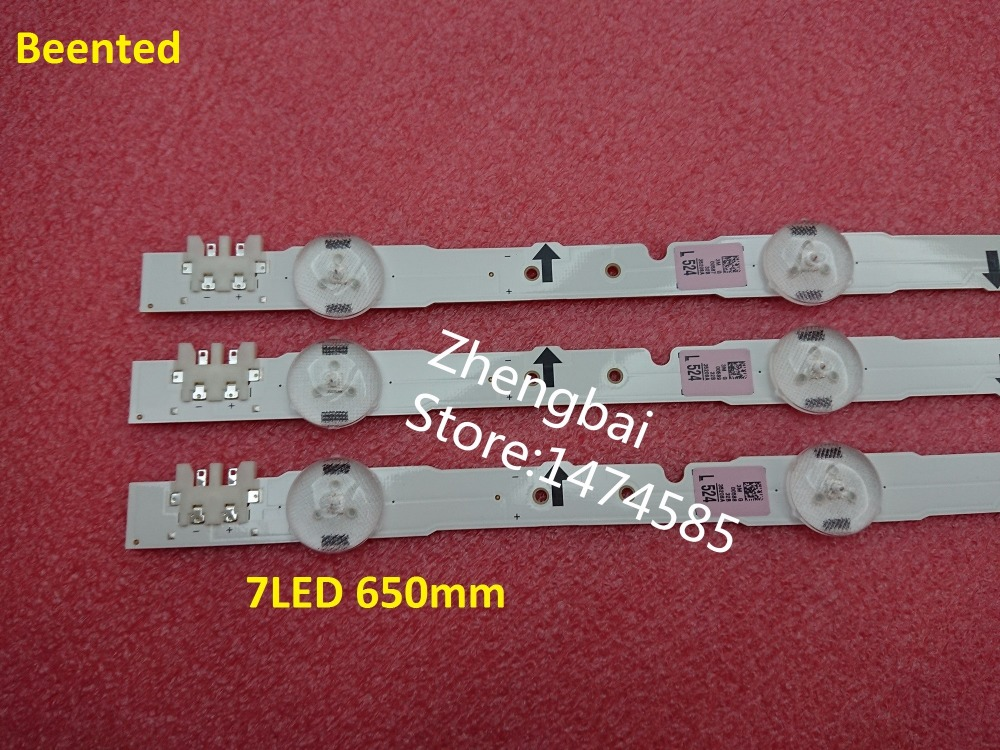 (New Kit)3pcs 7LED 65cm LED Backlight Strip For Samsung UE32H4290AU 2014SVS32HD D4GE-320DC0-R3 BN96-35208A 30448A 30446A 30445A