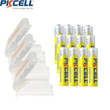 12 шт pkcell aaa батарея в 1000 мАч nimh 3a аккумуляторные батареи