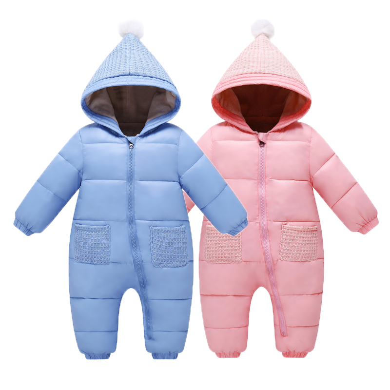 Winter Baby Rompers Christmas Baby Girl Clothes Down Parkas Newborn Clothing Baby Boy Clothes Roupas Bebe Infant Baby Jumpsuits winter newborn baby girls clothing boys rompers cartoon infant clothes down snowsuit babies jumpsuits christmas clothing 2016