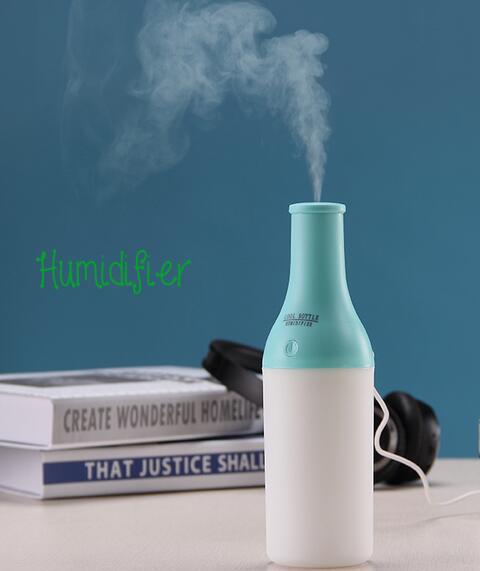 3 in 1 tabletou Ultrasonic Cool Bottle USB Humidifier mini with LED Sleeping Lamp