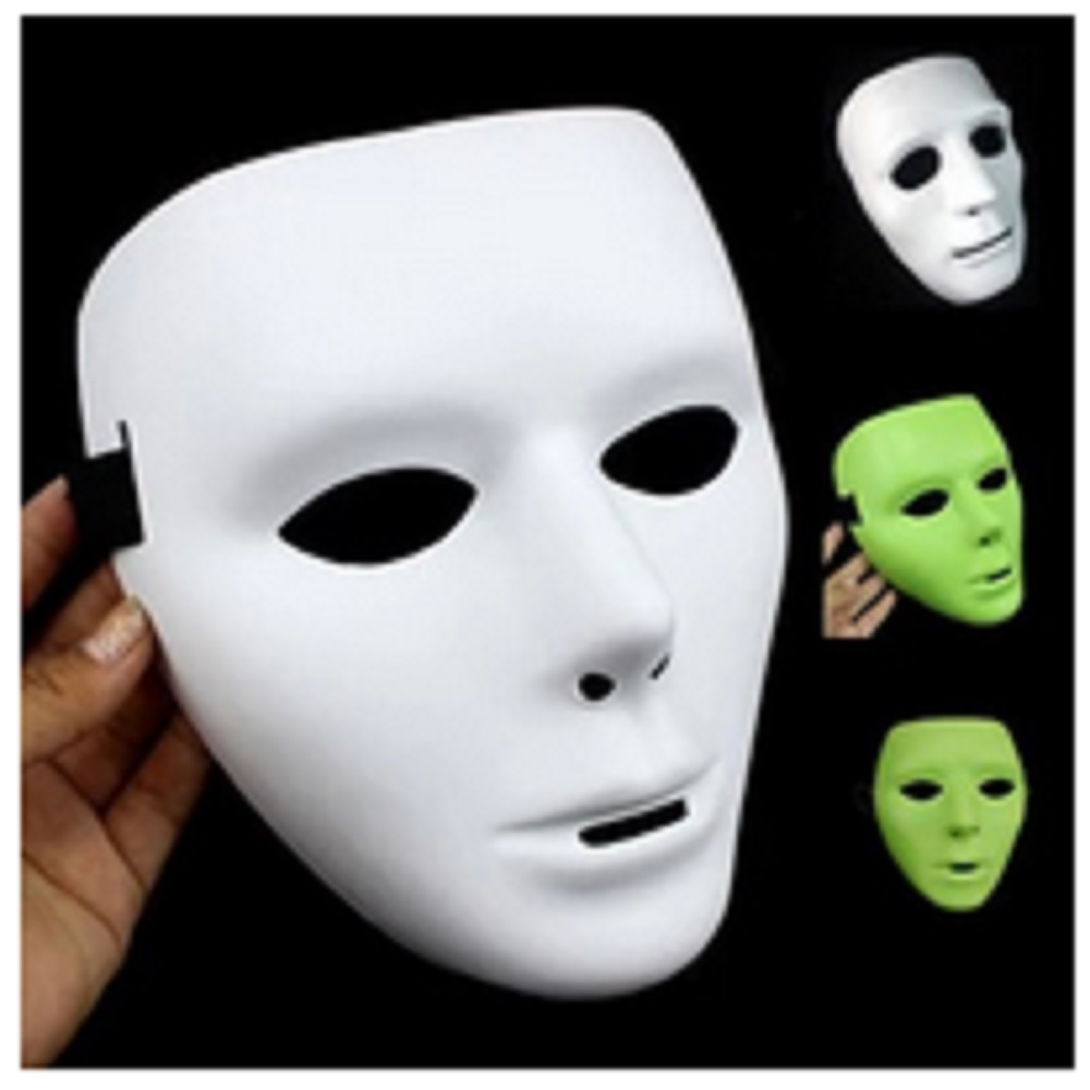 Popular White Halloween Mask-Buy Cheap White Halloween Mask lots ...