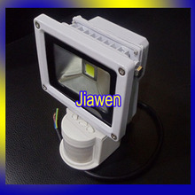 10W PIR Flood light Motion detective Sensor LED Outdoor Landscape Floodlight, AC85V-265V 1pcs