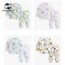 2019 New Spring newborn baby girl clothes suit fashion suit T-shirt + pants suit baby boy clothes comfortable clothing set