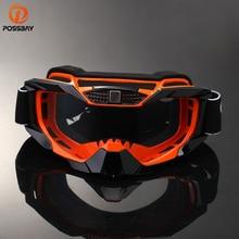 POSSBAYรถจักรยานยนต์Dirt Bike Racing Goggles MX Off Roadแว่นตารถจักรยานยนต์กีฬากลางแจ้งOculos Goggles Motocross Gafas