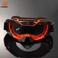 POSSBAY Motorrad Dirt Bike Racing Goggles MX Off-Road Brille Motorrad Outdoor Sport Oculos Radfahren Goggles Motocross Gafas