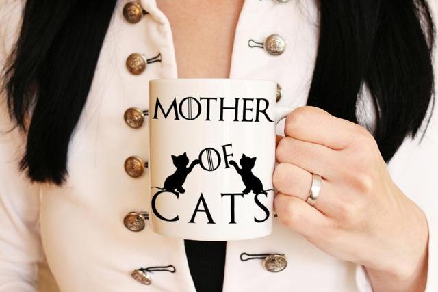 Mother Of Cats Mug ceramic tea cups