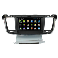 Pour LsqSTAR Android 6.0 dvd de voiture radio gps lecteur pour PEUGEOT 508 avec Commande Au Volant IPOD BT Auto Radio 3G wifi Canbus