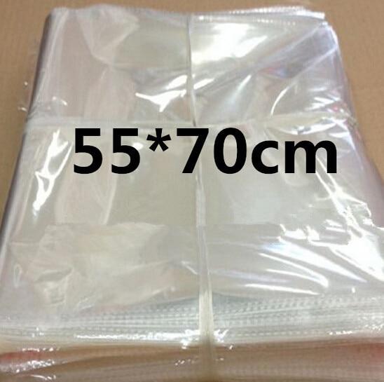 Clear Cellophane/BOPP/Poly PVC big large Bags 55*70cm
