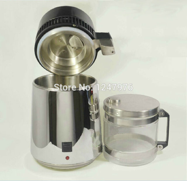 Distilled water machine with Stainless steel blind cover/Portable water distiller CE certificate