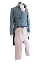 Для мужчин Делюкс Regency Mr. Дарси викторианский костюм Размеры Средний