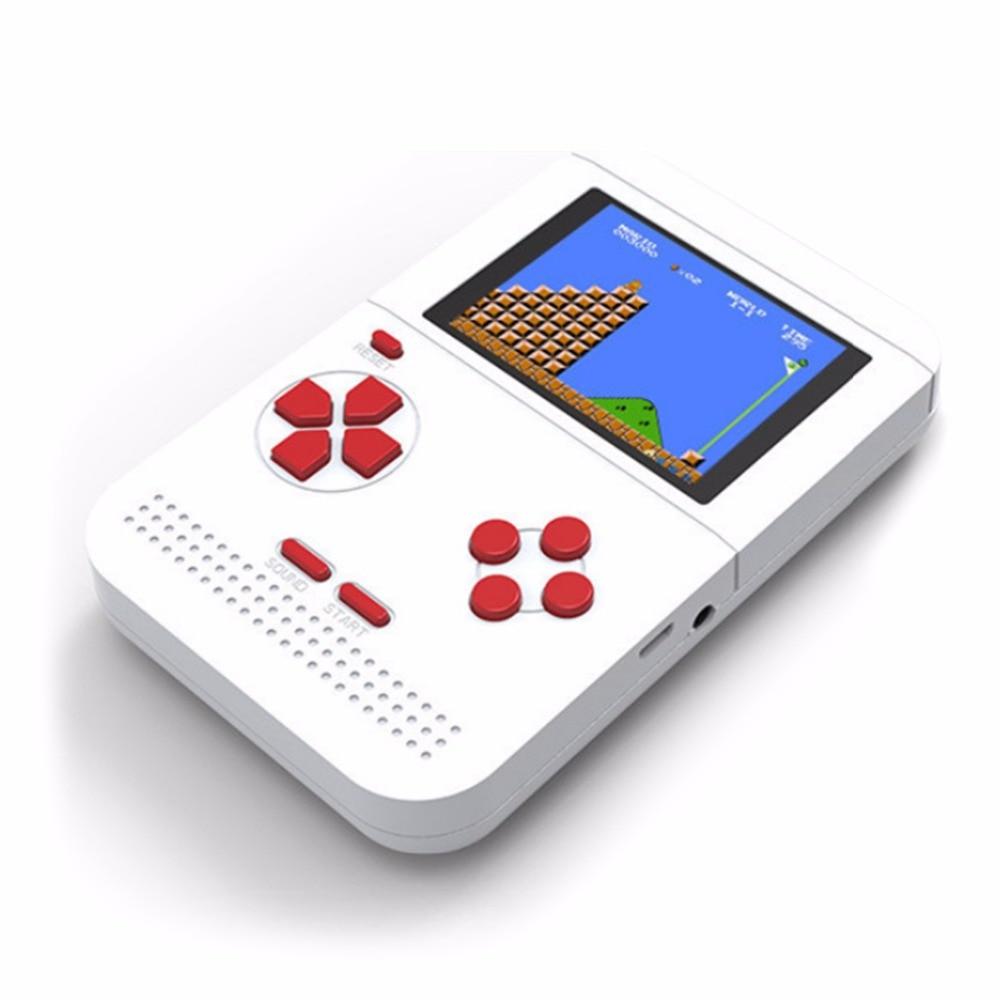 Classic Handheld Mini Game Machine Tetris Brick Game Kids Game Machine Toy With Game Music Playback With Battery