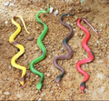 New 1 Piece Halloween Gift Tricky Funny Spoof Toy Simulation Soft Scary Fake Snake New Style Horror Toy For Party