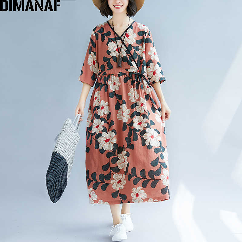 0234abe218098 Detail Feedback Questions about DIMANAF Plus Size Women Summer Dress ...