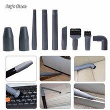 Frys Store 9Pcs/Set Universal Vacuum Cleaner Accessories Multifunctional Corner Brush Set Plastic Nozzle
