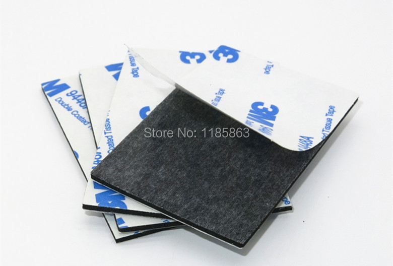 Купить с кэшбэком 3M Double Sided Black Foam Tape Strong Pad Mounting Rectangle Adhesive free shipping