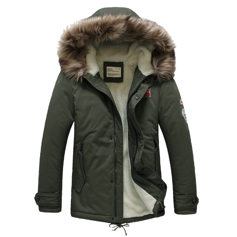 Mens Fur Hooded Coats Sale