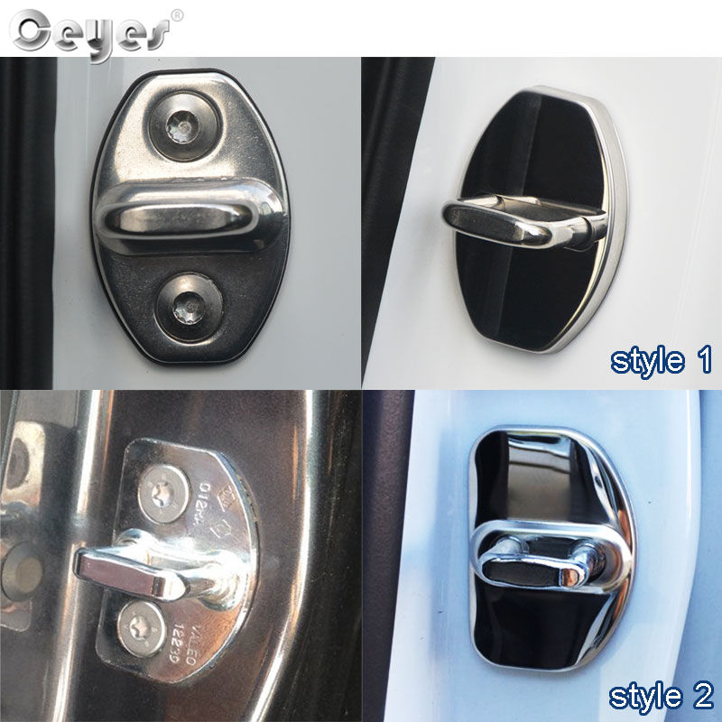 Ceyes Decor And Protect Auto Door Lock Covers Case For Audi S Line A1 A3 A4 A4L A5 A6L A6 A8 B4 B5 B6 B7 B8 TT Q7 Q5 Car Styling
