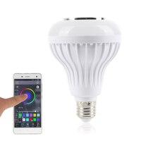 Oobest Phone App Controled Bluetooth LED Light Music Audio Speaker W RGB Color Smart Bluetooth Wireless