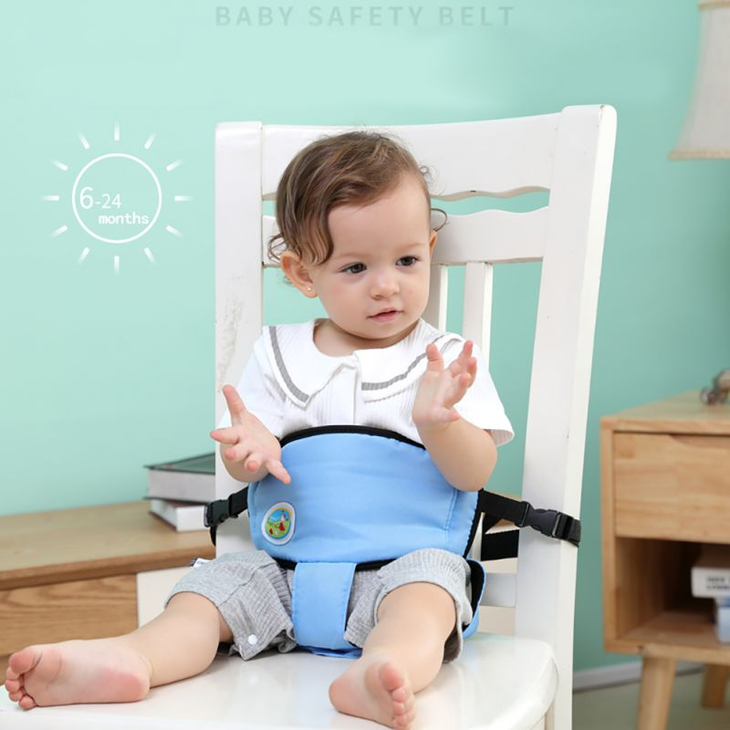 Kids Baby Chair Portable Infant Seat Product Dining Lunch Chair/Seat Safety Belt Feeding High Chair Harness Babychair Seat