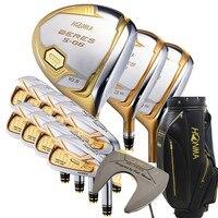 Набор комплект для гольф клубов Honma Bere S 06 4 звезды наборы гольф клуба Драйвер + Фарватер + гольф железо + клюшка (14 шт.) + сумка для гольфа