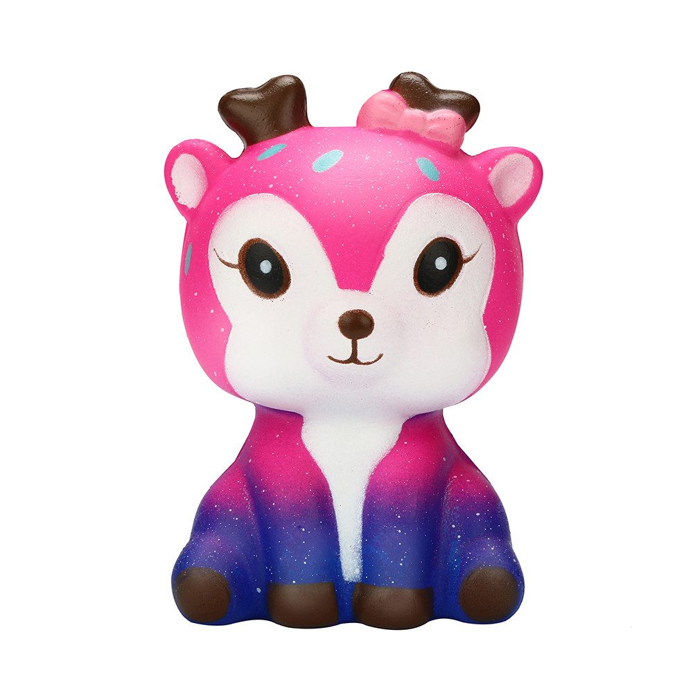 Stress Relief Toy Toys & Hobbies Squeeze Soft Galaxy Jumbo Deer Cake Slow Rising Scented Squeeze Stress Relief Toy Collection Funny Gift Z0222