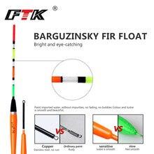 FTK Fortune Paulownia Wood 5Pcs/lot Floating weight 3G 4G 5G 6G Length 22cm-26cm Fishing Float Float For Carp Fishing