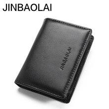 Minimalist Credit Business Card Holder Men Wallet Male Purse