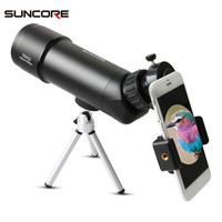 SUNCORE 16x52 Optical Lens Waterproof Monocular Bird Watching Telescope Spotting Scope for Outdoor Travel Vacation Walking