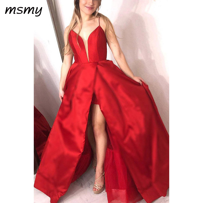 Sexy   Evening   Dresse A-Line Prom   Dress   Sleeveless Backless Lace Up Floor Length New   Evening   Gowns Custom Made Vestido de noche