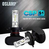 Oslamp H4 H11 H13 9005 HB3 9006 HB4 H7 Led Car Headlight Hi Lo Beam Single