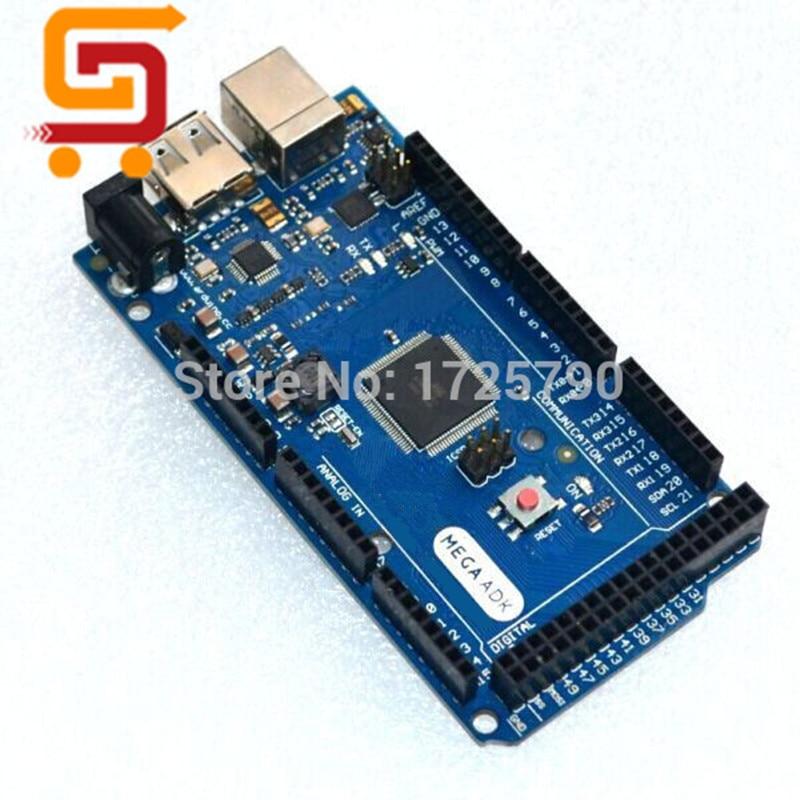 5set 5pcs ADK R3 Mega 2560 2012 ARM Version Main Control Board 5pcs USB Cable Compatible