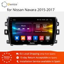 "Ownice K1 K2 K3 10.1 ""Android 9.0 Octa Core Car DVD GPS multimediale per NISSAN navara 2015-2017 autoradio unità di testa stereo 4G"