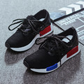 women outdoor casual shoes breathable sew walking shoes lace up knitting shoes trainers baskets zapatillas deportivas XK083028