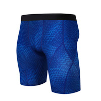 Man Running Tights Leggings Skin Compression Quick Dry Sport Wear Jogging Gym Basketball Breathable Sweat Elastic Shorts For Men