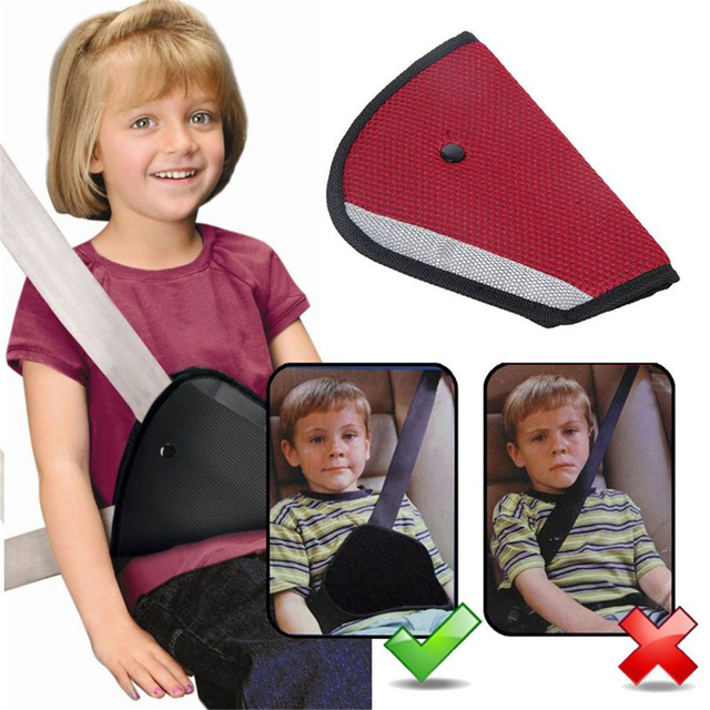 triangle child car safety seatbelt belt adjuster fit kids parts protecting adjuster toddlers car kids safe