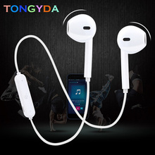 Sport In-Ear Neckband Wireless Headphone Bluetooth V4.1 Earphone With Mic Stereo Bluetooth Earbuds Headset For iPhone Xiaomi original xiaomi bluetooth collar earphone sport wireless bluetooth headset in ear magnetic mic play dual dynamic headphone